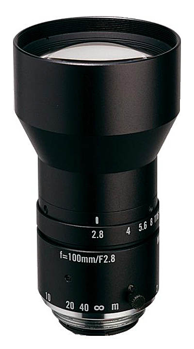 "100mm fl, F2.8, c-mount, 2/3"" Kowa Machine Vision Lens"