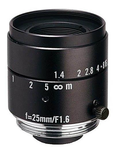 "25mm fl, F1.6, c-mount, 2/3"" Kowa Machine Vision Lens"