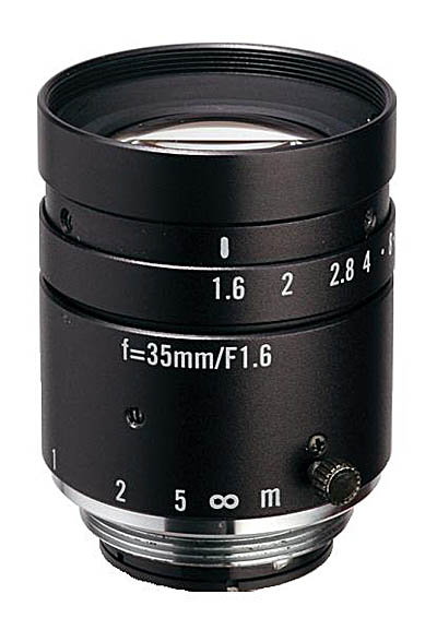 "35mm fl, F1.6, c-mount, 2/3"" Kowa Machine Vision Lens"