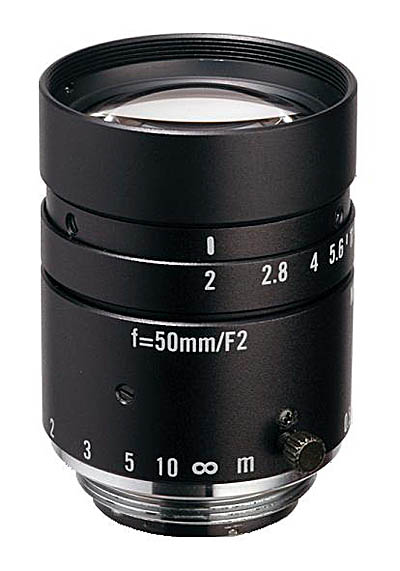 "50mm fl, F2.0, c-mount, 2/3"" Kowa Machine Vision Lens"