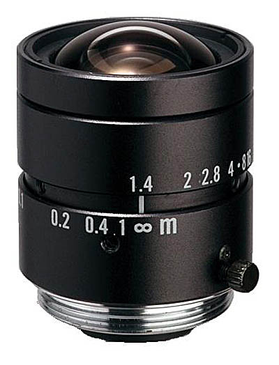 "6mm fl, F1.4, c-mount, 2/3"" Kowa Machine Vision Lens"