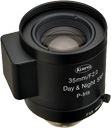 25mm fl, F1.4, P-Iris, C-Mount, Kowa 5 MP Day/Night Lens